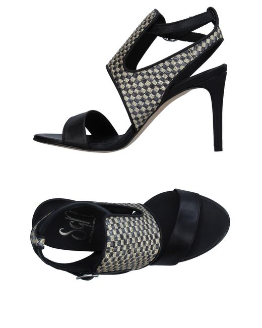 Sgn Giancarlo Paoli - Black Sandals - Lyst
