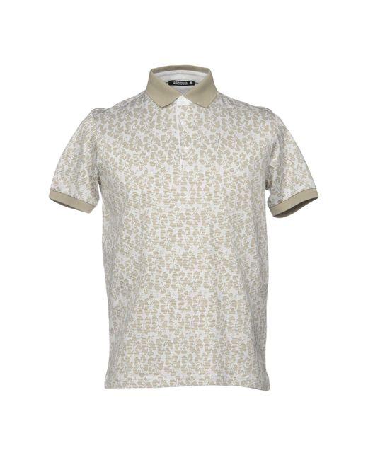 Andrea Fenzi - Natural Polo Shirt for Men - Lyst