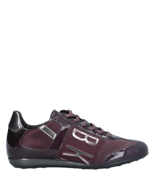 Bikkembergs Purple Low-tops & Sneakers