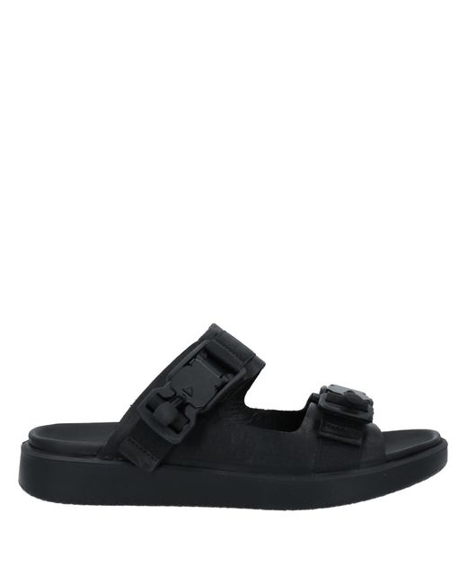 Ecco Black Sandals for men