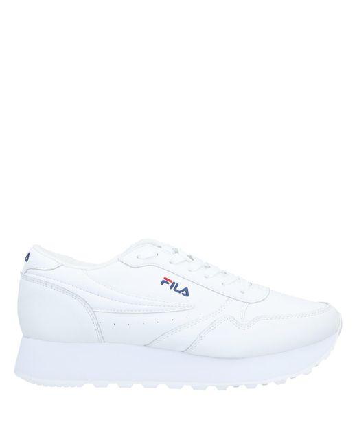 Fila Sneakers & Deportivas de mujer de color blanco