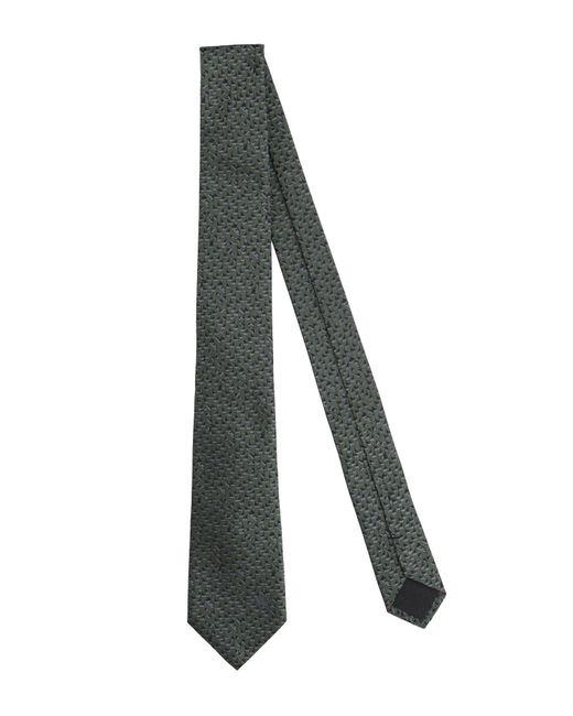 Versace Green Tie for men