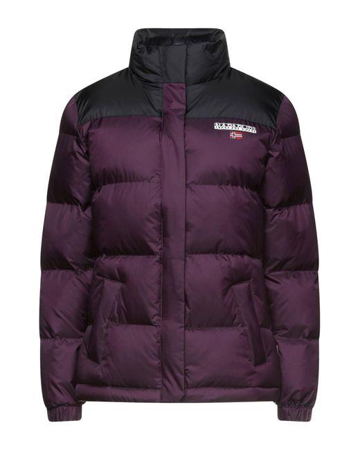 Napapijri Purple Down Jacket