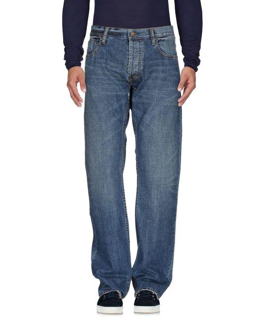 Paul Smith - Blue Denim Pants for Men - Lyst