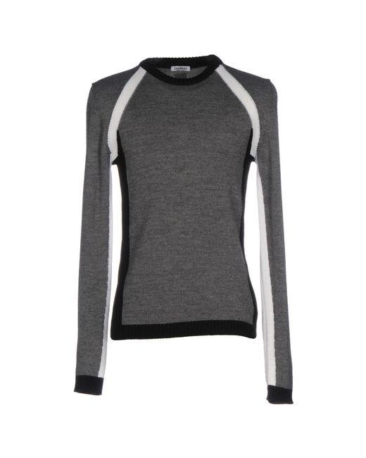 Bikkembergs - Gray Sweater for Men - Lyst