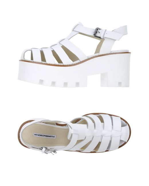 Windsor Smith - White Sandals - Lyst