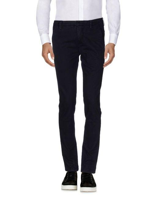 Dondup Blue Casual Pants for men