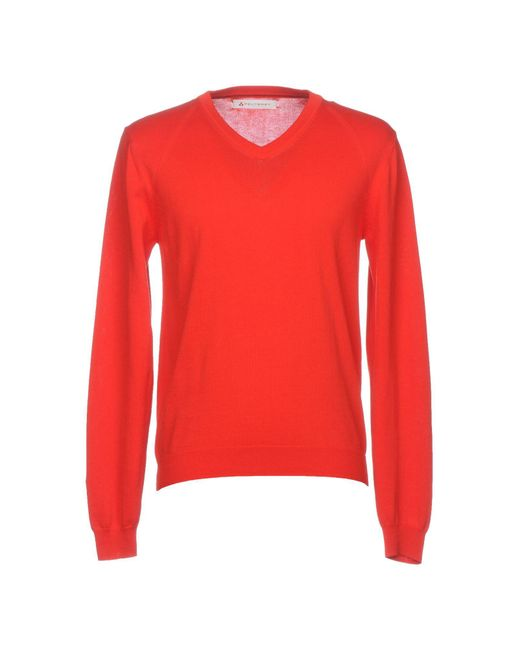 Peuterey - Red Sweater for Men - Lyst