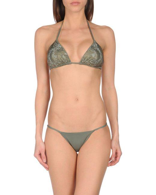 Fisico   Green Bikini   Lyst