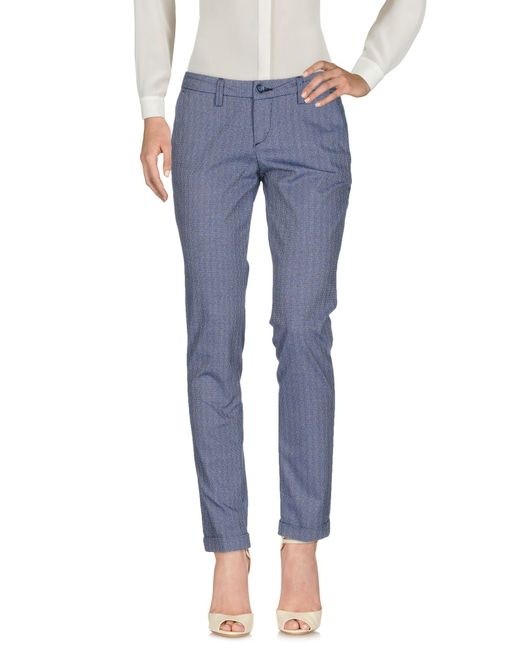 Re-hash Blue Casual Trouser