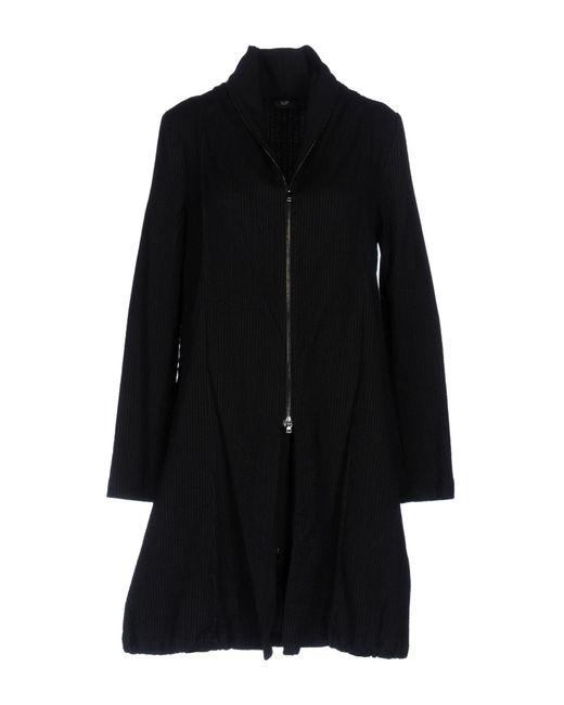 Crea Concept - Black Overcoat - Lyst