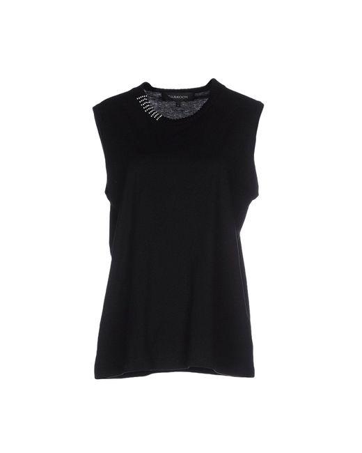 Thakoon | Black T-shirt | Lyst