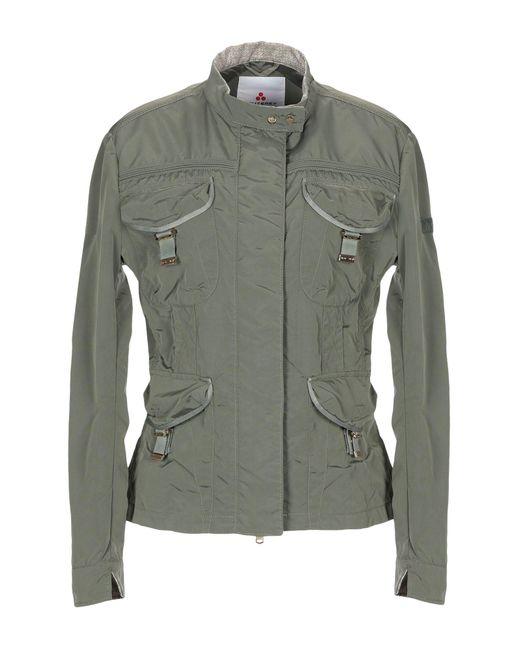 Peuterey - Green Jacket - Lyst