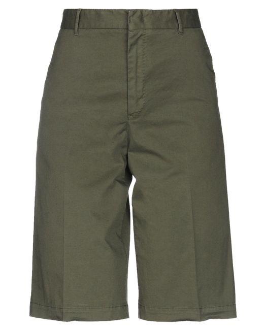 PT01 Green Bermuda Shorts
