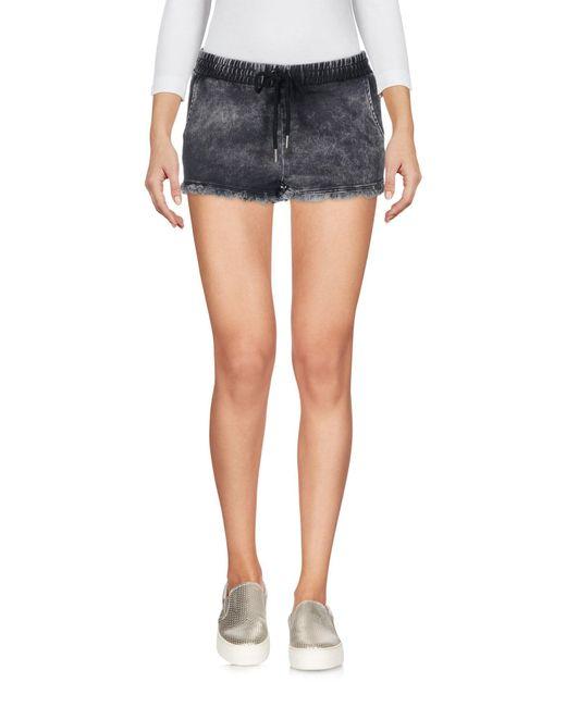 Short en jean Superdry en coloris Black