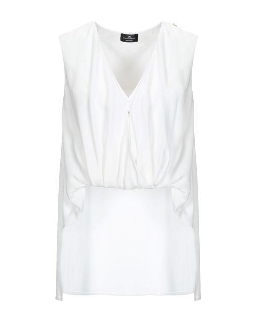 Top Elisabetta Franchi en coloris White