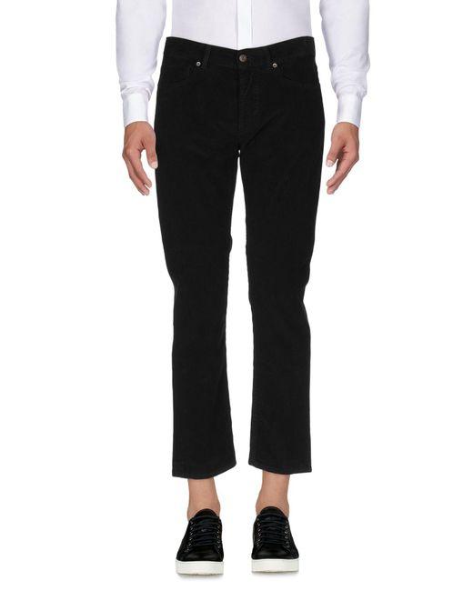 Pantalone di Mauro Grifoni in Black da Uomo