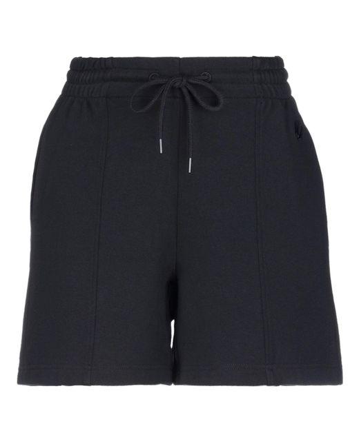 McQ Alexander McQueen Black Bermuda Shorts