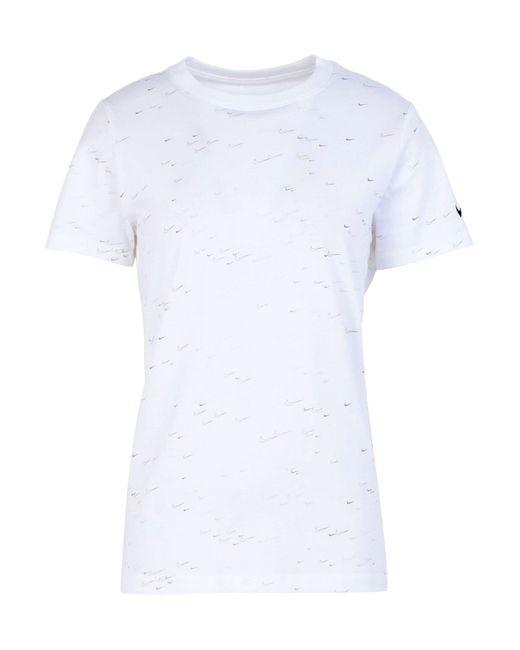 T-shirt di Nike in White