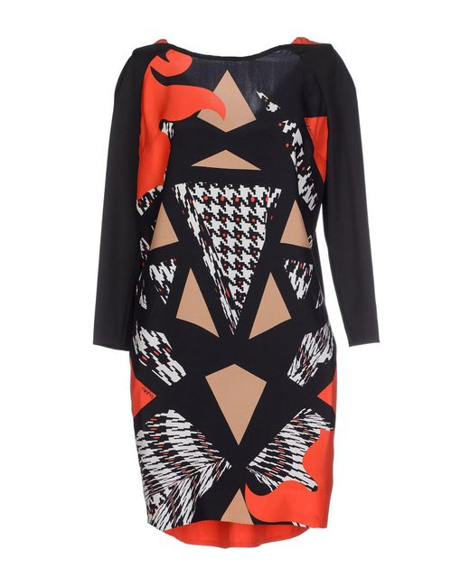 Byblos Black Short Dress