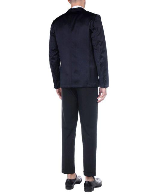 Dries Van Noten Blue Suit Jacket for men