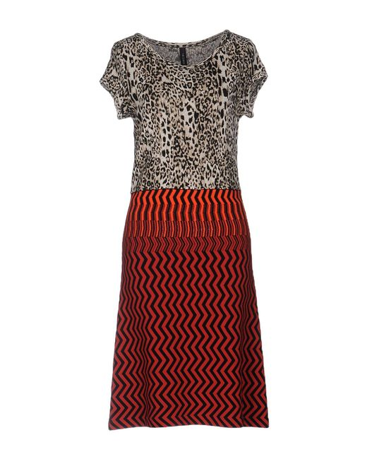 Marc Cain Red Knee-length Dress