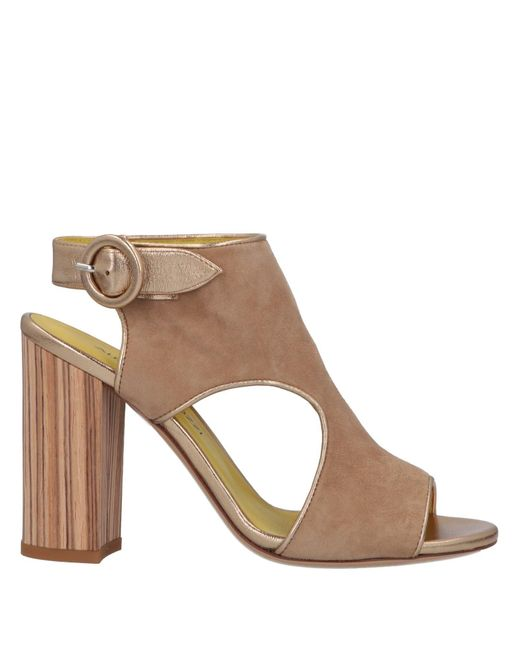 Alberto Gozzi Sandalias de mujer de color marrón