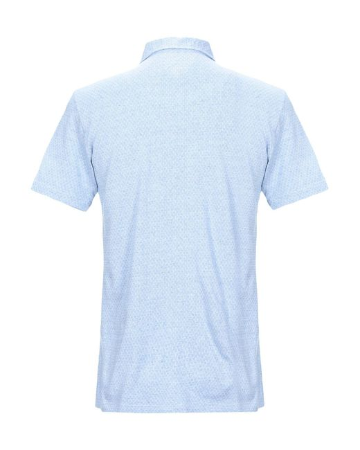 Polo Drumohr pour homme en coloris Blue