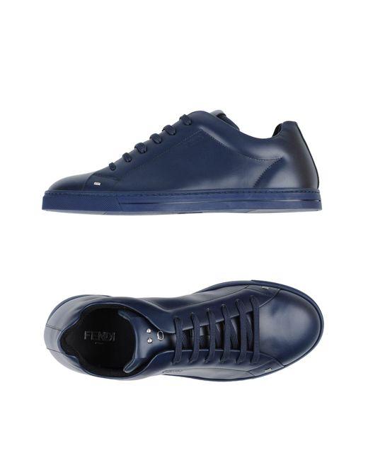 Sneakers & Tennis basses Fendi pour homme en coloris Blue