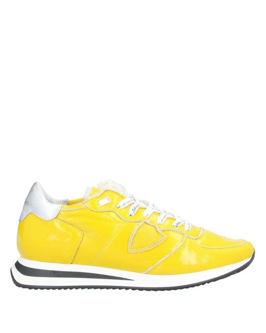 Philippe Model Yellow Low-tops & Sneakers