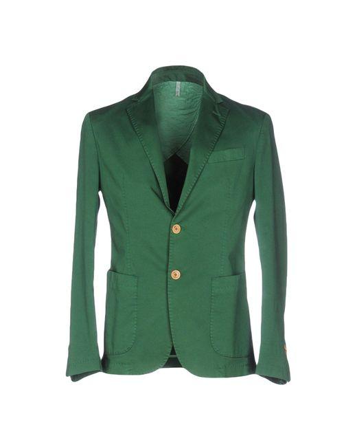 Domenico Tagliente Green Blazer for men
