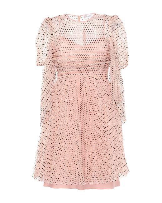 Vestito corto di RED Valentino in Pink