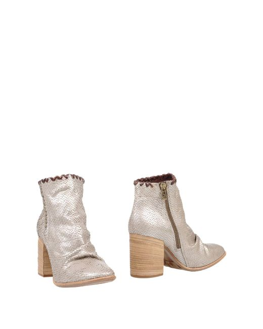 A.s.98 - Gray Ankle Boots - Lyst