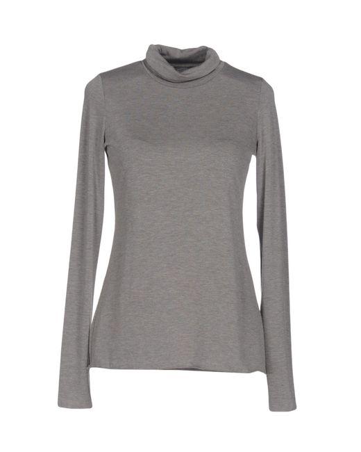 Roberto Collina | Gray T-shirt | Lyst