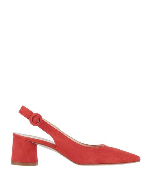 KARIDA Zapatos de salón de mujer de color rojo
