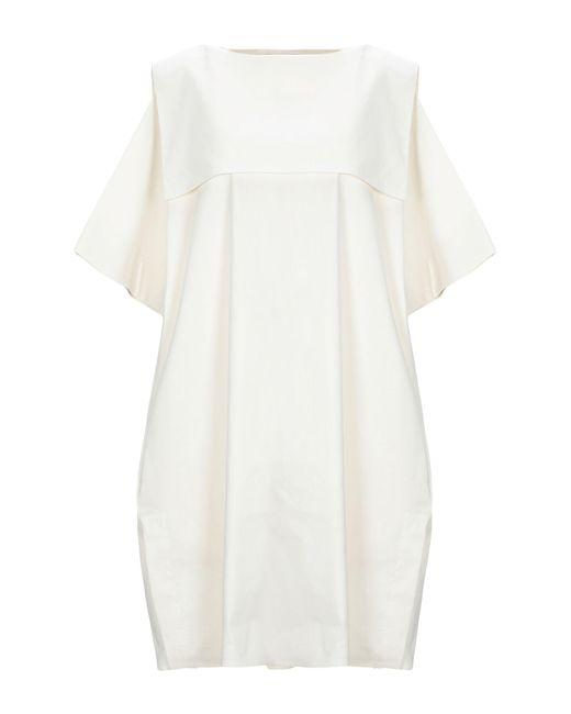Vestito corto di Jil Sander Navy in White