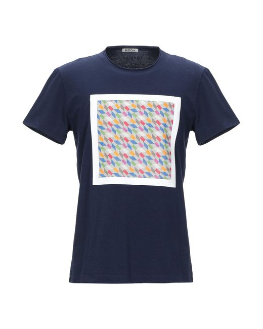 Roda Blue T-shirt for men