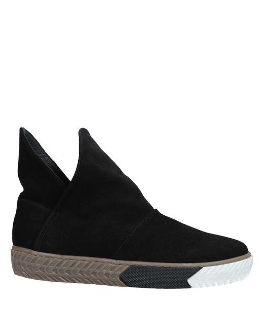 Lemarè - Black Ankle Boots - Lyst