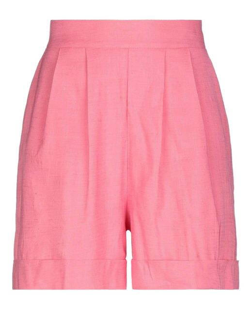 HEBE STUDIO Pink Shorts