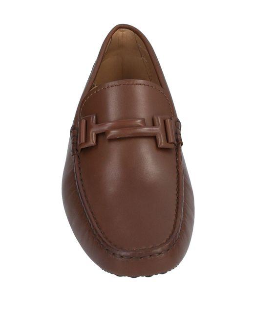 Mocassins Tod's pour homme en coloris Brown