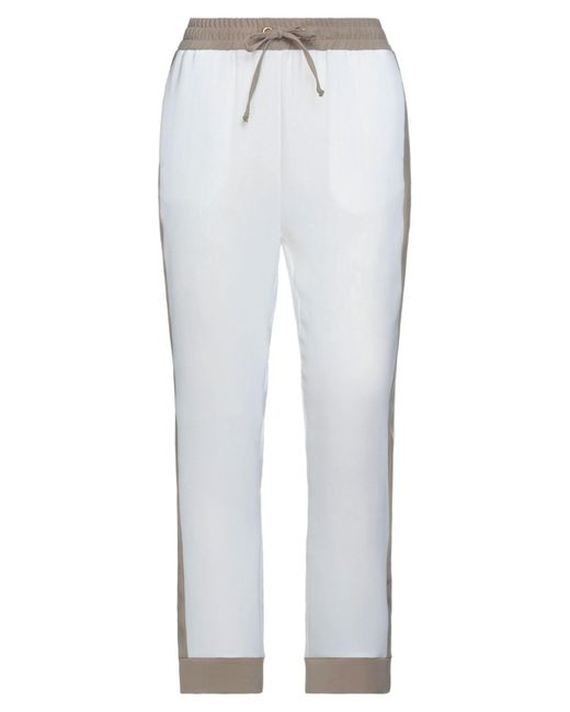 Pantalone di Alessandro Dell'acqua in White