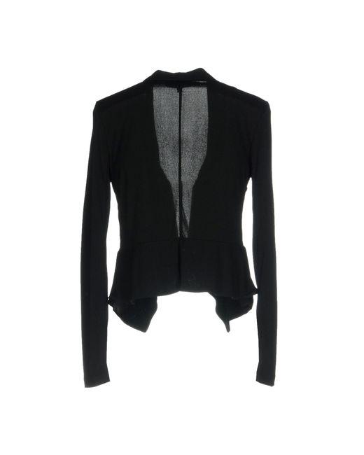Patrizia Pepe Black Suit Jacket
