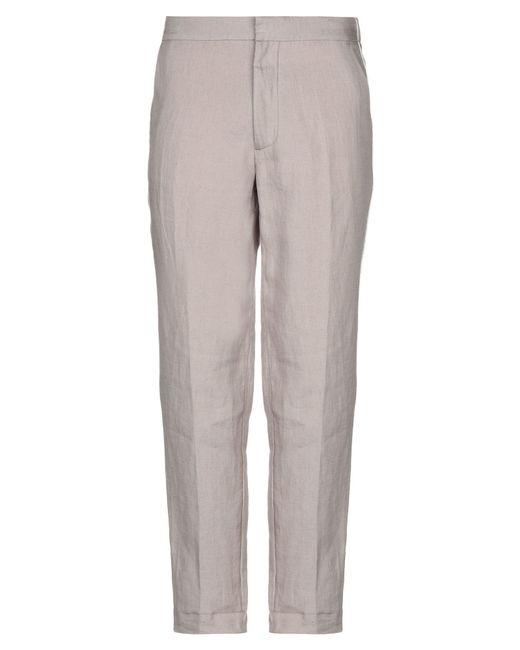 Pantalones Gazzarrini de hombre de color Gray