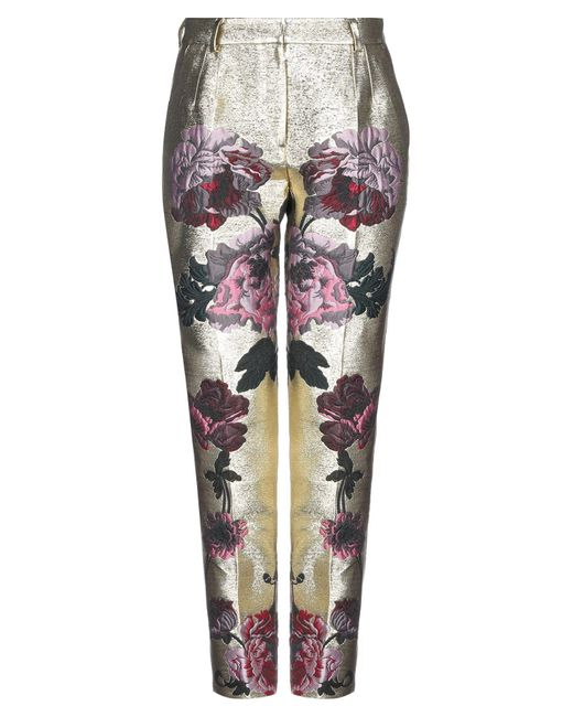 Pantalone di Dolce & Gabbana in Metallic