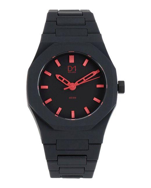 Montre de poignet D1 Milano pour homme en coloris Black