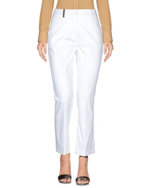 Pantalone di Peserico in White