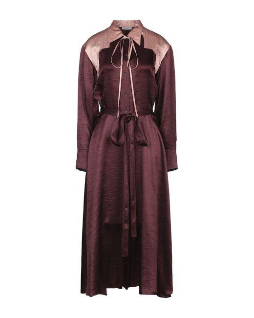 Nina Ricci Multicolor Langes Kleid