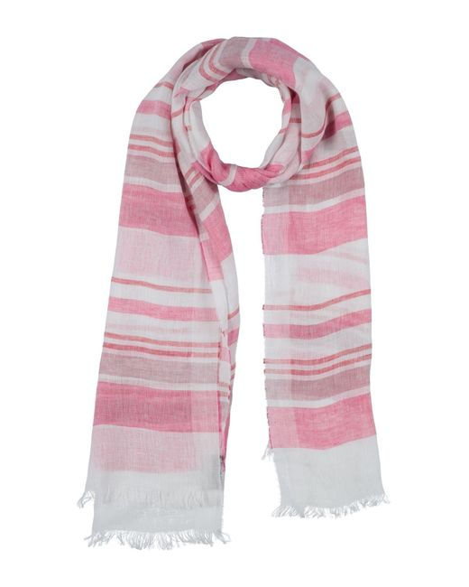 Fiorio Pink Scarf for men
