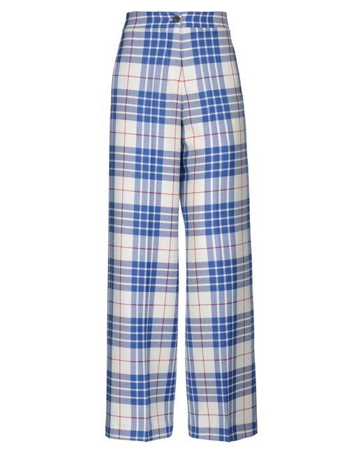 Giada Benincasa Blue Casual Pants