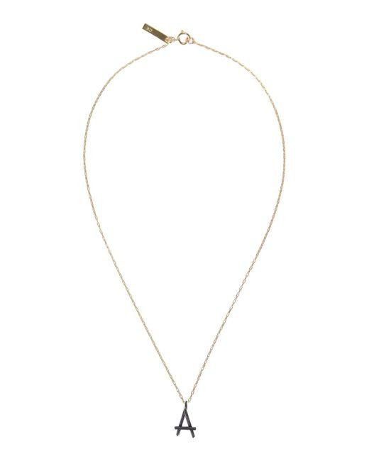 First People First Metallic Halskette